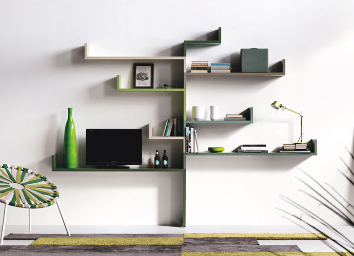 Best Italian Furniture in Toronto and Markham - MODULAR SHELVING