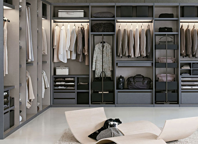 Best Italian Furniture in Toronto and Markham - WALK-IN CLOSETS