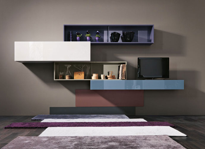 Best Italian Furniture in Toronto and Markham - WALL STORAGE