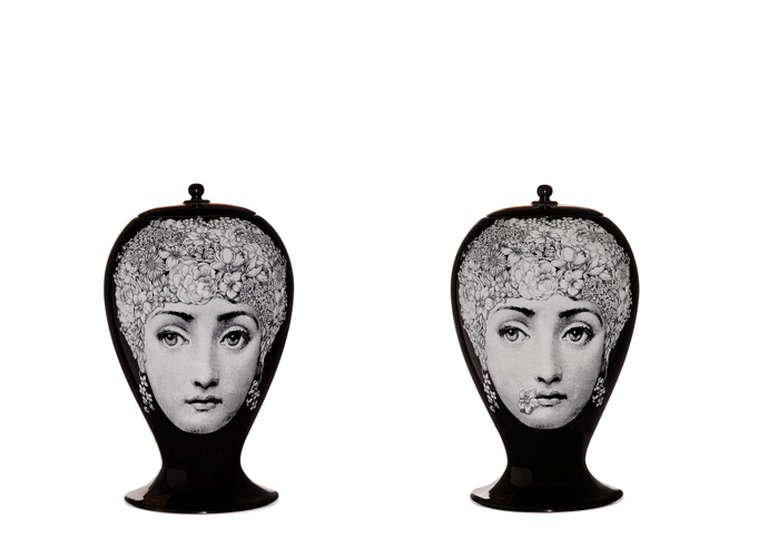 Fornasetti Mini Flora Ceramic Vase Suite 22 Interiors