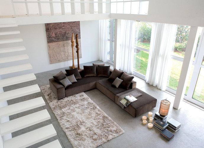 linea italia glamour sofa suite 22 interiors. Black Bedroom Furniture Sets. Home Design Ideas