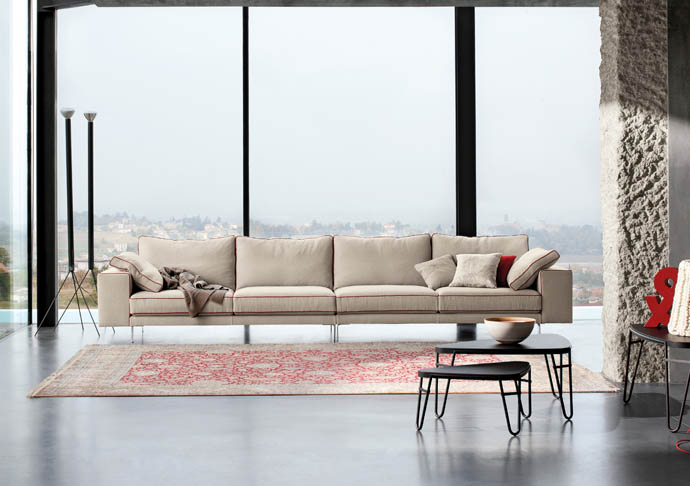 linea italia metropolitan sofa suite 22 interiors. Black Bedroom Furniture Sets. Home Design Ideas