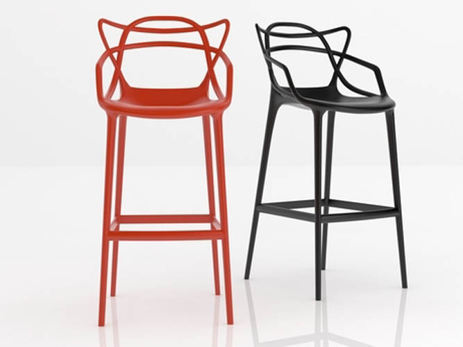 kartell masters stool suite 22 interiors markham toronto. Black Bedroom Furniture Sets. Home Design Ideas