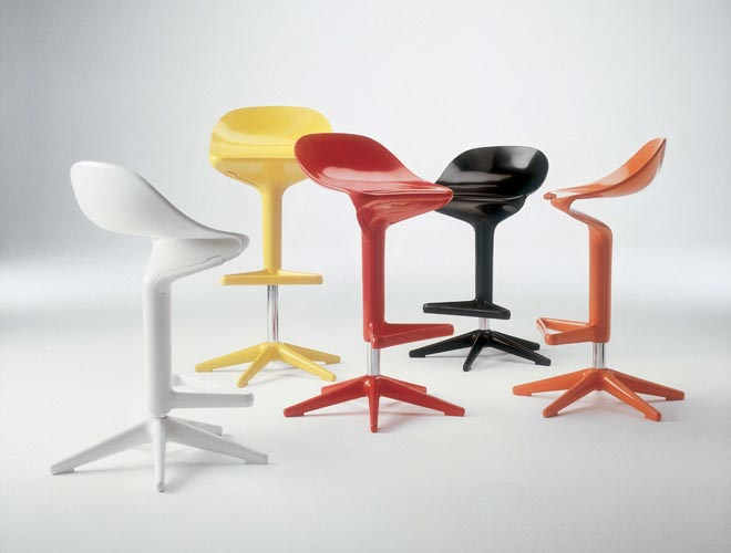 Kartell Spoon Stool - Suite 22 Interiors - Markham Toronto