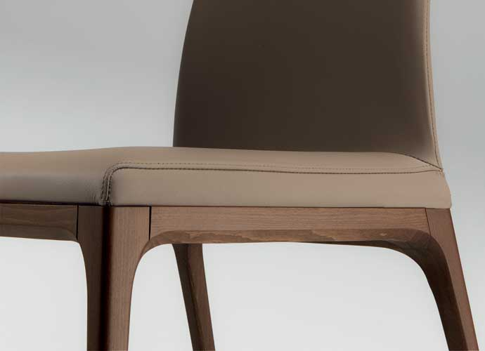 Cattelan italia arcadia h dining chair suite 22 interiors markham toronto - Cattelan italia dining chairs ...