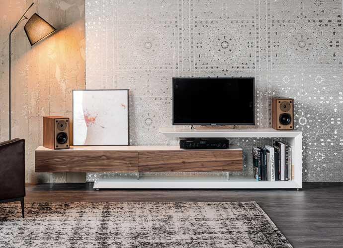 Cattelan Italia Link Tv Stand Suite 22 Interiors