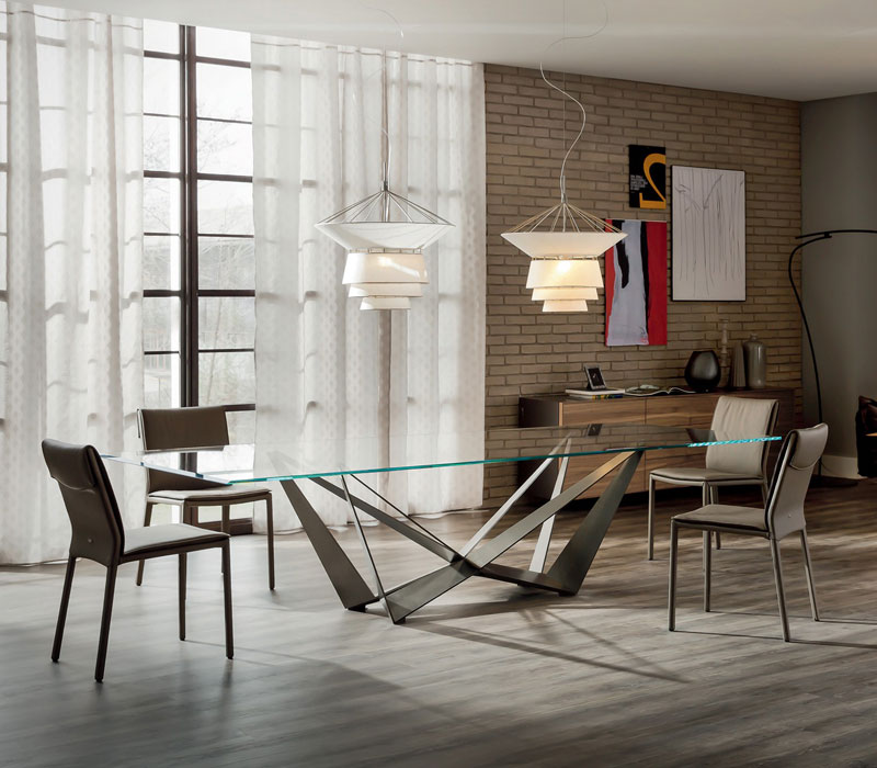 Furniture showroom image. Cattelan Italia funiture collection in Toronto and Markham Ontario.